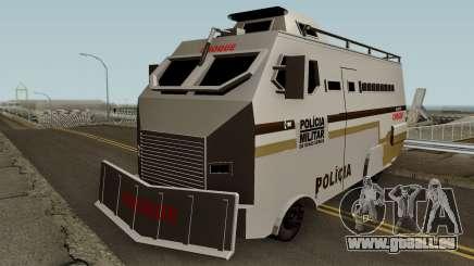 Blindado Choque PMMG Grande pour GTA San Andreas