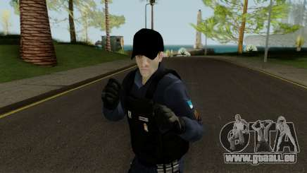 Brazilian Police Skin 1 pour GTA San Andreas