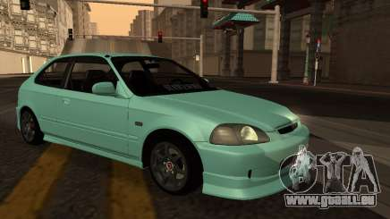 Honda Civic Olive Green pour GTA San Andreas