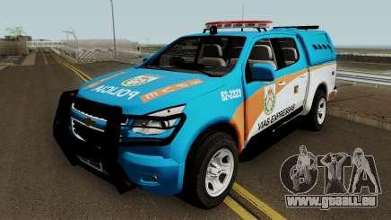 Chevrolet S10 PMERJ BPVE für GTA San Andreas
