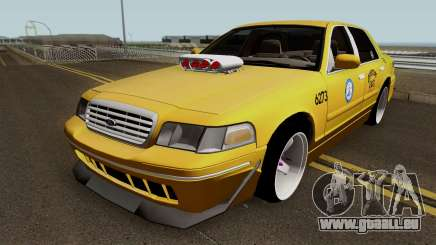 Ford Crown Victoria New York Taxi (Taxi Movie) pour GTA San Andreas