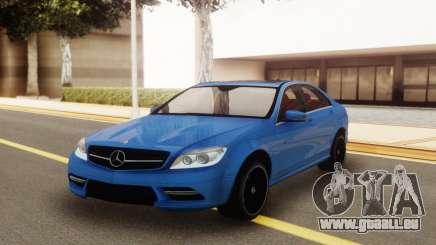 Mercedes-Benz C200 w204 AMG-Line pour GTA San Andreas