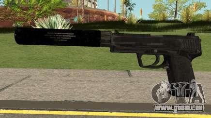 COD-MWR USP45 Suppressed pour GTA San Andreas