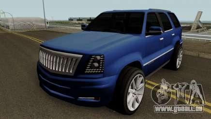 Cadillac Escalade ESV AWD 6.0L V8 2006 v1 pour GTA San Andreas