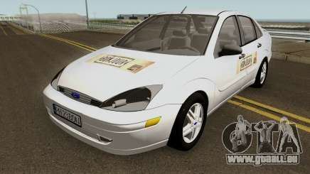 Ford Focus (Bonjour Bar Delivery Food) 2004 pour GTA San Andreas