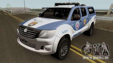 Toyota Hilux 2015 PETO CIPM POJUCA pour GTA San Andreas