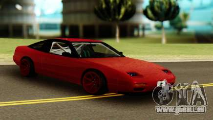 Nissan 240SX Red pour GTA San Andreas