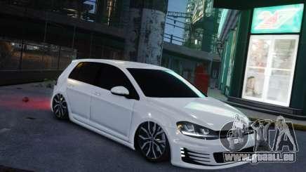 Volkswagen Golf White für GTA 4