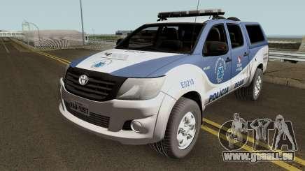 Toyota Hilux SRV 2016 DEAM COORPIN pour GTA San Andreas
