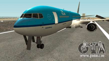 Boeing 767-300 KLM Livery pour GTA San Andreas