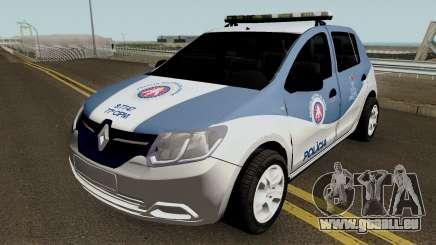 Renault Sandero 2017 PMBA CIPM für GTA San Andreas