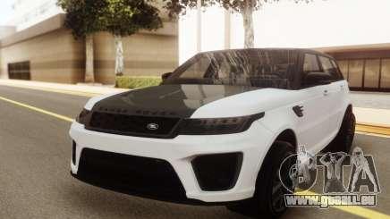 Range Rover SVR 2018 pour GTA San Andreas