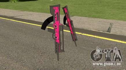 GTA Online Bullpup Rifle Mk.2 Pink Skull für GTA San Andreas
