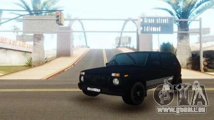 VAZ 2131 Black Edition pour GTA San Andreas