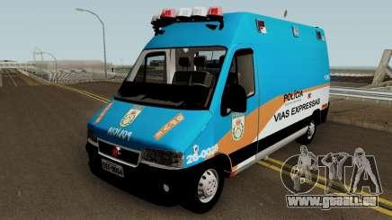 Fiat Ducato PMERJ BPVE pour GTA San Andreas