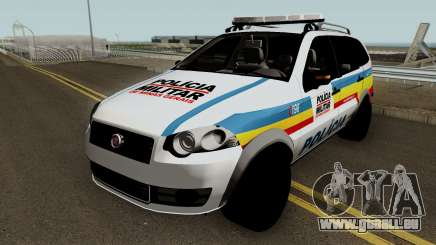 Fiat Palio Weekend Trekking 2012 PMMG pour GTA San Andreas