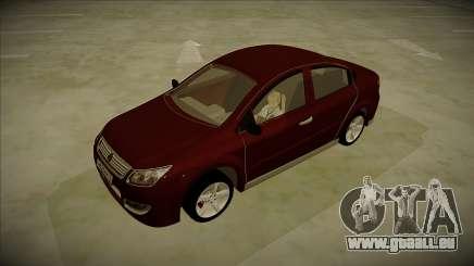 Chery A3 Sedan 2013 V2 pour GTA San Andreas