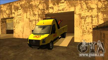 Volkswagen Crafter Portuguese Towtruck pour GTA San Andreas