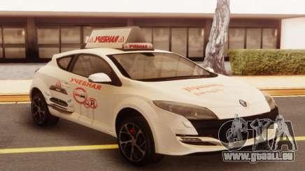 Renault Megane RS White für GTA San Andreas