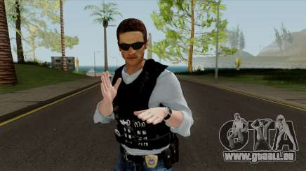 New Police Skin pour GTA San Andreas