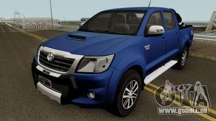 Toyota Hilux SRV 4x4 3.0 2015 pour GTA San Andreas