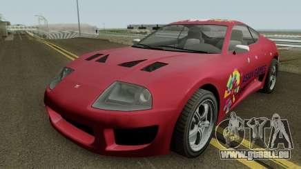 Dinka Jester Classic 18th Asian Games für GTA San Andreas
