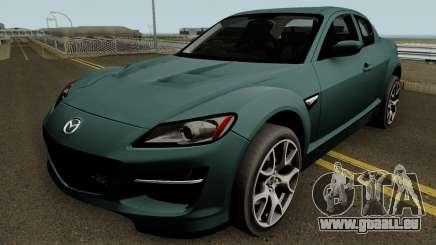 Mazda RX-8 HQ pour GTA San Andreas