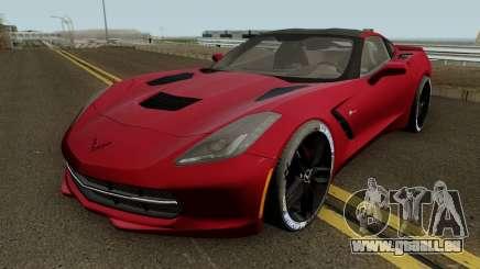 Chevrolet Corvette Z51 C7 2014 pour GTA San Andreas