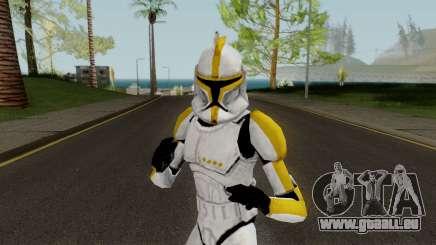 Clone Trooper Yellow (Star Wars The Clone Wars) pour GTA San Andreas