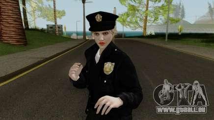 GTA Online Random Skin 10 LSPD Metro Officer pour GTA San Andreas