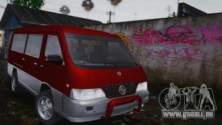 SsangYong Istana pour GTA San Andreas