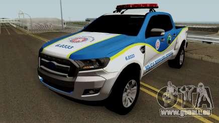 Ford Ranger 2017 PRE PMBA für GTA San Andreas