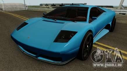 Lamborghini Murcielago LP640 Roadster 2005 IVF pour GTA San Andreas