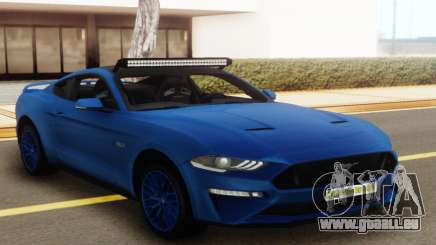 Ford Mustang GT 2018 Blue pour GTA San Andreas