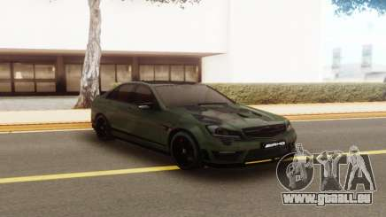 Mercedes-Benz C63 AMG Camo pour GTA San Andreas