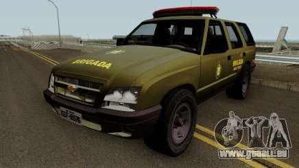 Chevrolet Blazer 2010 Brazilian Police pour GTA San Andreas