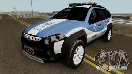 Fiat Palio Weekend Aventure 2017 Ronda Escolar pour GTA San Andreas