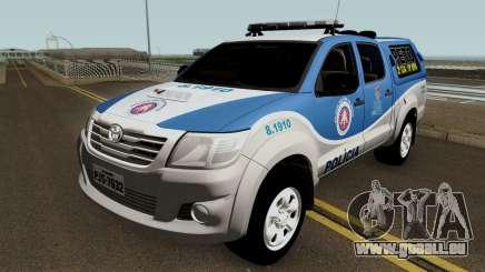 Toyota Hilux PETO CIA Jequie pour GTA San Andreas