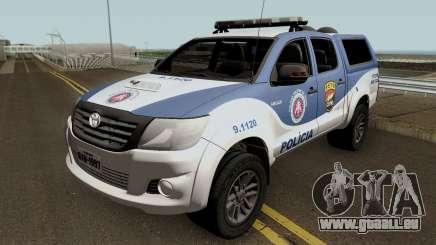 Toyota Hilux 2015 PETO CIPM pour GTA San Andreas