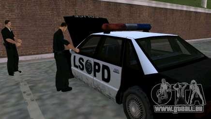 Die Wiederbelebung der Polizei LSPD für GTA San Andreas