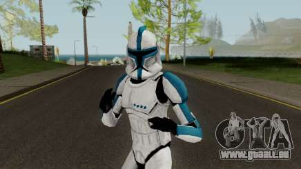 Clone Trooper Blue (Star Wars The Clone Wars) für GTA San Andreas