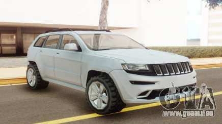 Jeep Grand Cherokee SRT 2014 White für GTA San Andreas