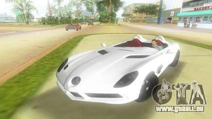 2008 Mercedes-Benz SLR-Moss für GTA Vice City