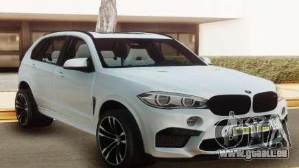 BMW X5M Offroad White pour GTA San Andreas