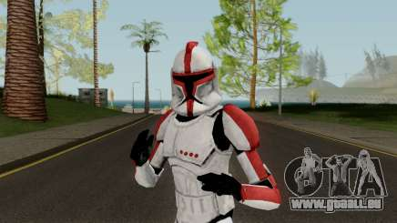 Clone Trooper Red (Star Wars The Clone Wars) pour GTA San Andreas