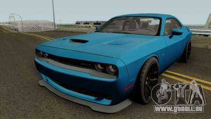 Dodge Challenger SRT Hellcat 2015 HQ pour GTA San Andreas
