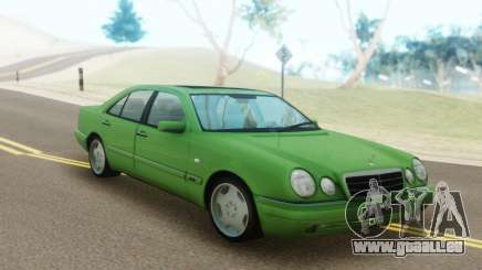 Mercedes-Benz E55 W210 Green pour GTA San Andreas