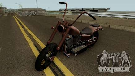 Western Motorcycle Daemon GTA V HQ pour GTA San Andreas