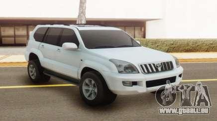 Toyota Land Cruiser Prado 120 White pour GTA San Andreas