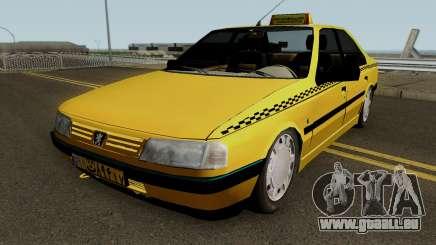 Peugeot 405 GLX Taxi Final pour GTA San Andreas
